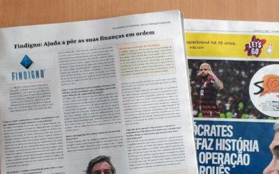 """Entrevista na País Positivo: """"Findigno: Ajuda a pôr as suas finanças em ordem"""""""